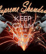 KEEP CALM AND FUCK EM - Personalised Poster A4 size