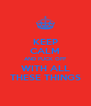 KEEP CALM AND FUCK OFF WITH ALL THESE THINGS - Personalised Poster A4 size