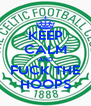 KEEP CALM AND FUCK THE HOOPS - Personalised Poster A4 size