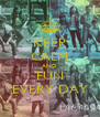 KEEP CALM AND FUN EVERY DAY - Personalised Poster A4 size