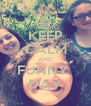 KEEP CALM AND FUNNY  DAY - Personalised Poster A4 size