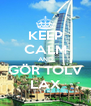 KEEP CALM AND GÖR TOLV LAX - Personalised Poster A4 size
