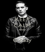KEEP CALM AND  G-Eazy - Personalised Poster A4 size