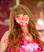 KEEP CALM AND G.NA COMEBACK - Personalised Poster A4 size