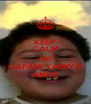 KEEP CALM AND GAFAM YANIYO ANNE - Personalised Poster A4 size