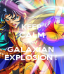 KEEP CALM AND GALAXIAN  EXPLOSION !  - Personalised Poster A4 size
