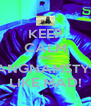 KEEP CALM AND GANGNAMSTYLE LIKE MAD! - Personalised Poster A4 size