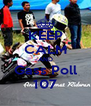 KEEP CALM AND Gass Poll 107 - Personalised Poster A4 size