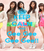 KEEP CALM AND Gee Gee Gee Gee!! - Personalised Poster A4 size
