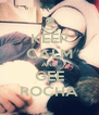 KEEP CALM AND GEE ROCHA - Personalised Poster A4 size