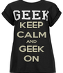 KEEP CALM AND GEEK ON - Personalised Poster A4 size