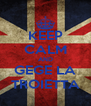 KEEP CALM AND GEGE LA TROIETTA - Personalised Poster A4 size
