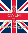 KEEP CALM AND Geh Staub  Essen,Diggah - Personalised Poster A4 size