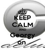 KEEP CALM AND Georgy on  - Personalised Poster A4 size