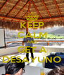 KEEP CALM AND GET A DESAYUNO - Personalised Poster A4 size