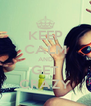 KEEP CALM AND GET CRAZY - Personalised Poster A4 size