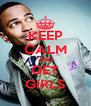 KEEP CALM AND GET GIRLS - Personalised Poster A4 size