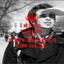KEEP CALM AND GET JOEY RICHTER ON GLEE - Personalised Poster A4 size