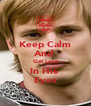Keep Calm And  Get Lost In His  Eyes - Personalised Poster A4 size