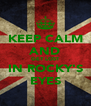 KEEP CALM AND GET LOST IN ROCKY'S EYES - Personalised Poster A4 size