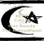 KEEP CALM AND Get Ready For Ramadhaan - Personalised Poster A4 size