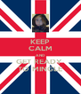 KEEP CALM AND GET READY  TO MINGLE - Personalised Poster A4 size