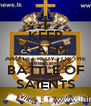 KEEP CALM AND GET REDY FOR THE BATTLE OF SAIENTS - Personalised Poster A4 size