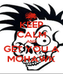 KEEP CALM AND GET YOU A MOHAWK - Personalised Poster A4 size