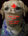 KEEP CALM AND  GET YOUR FLU SHOT - Personalised Poster A4 size