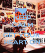 KEEP CALM AND GET YOUR  HEART ON - Personalised Poster A4 size
