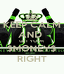 KEEP CALM AND  GET YOUR $MONEY$ RIGHT - Personalised Poster A4 size