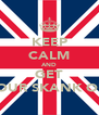 KEEP CALM AND GET YOUR SKANK ON - Personalised Poster A4 size