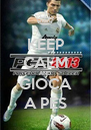 KEEP CALM AND GIOCA A PES - Personalised Poster A4 size