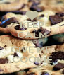 KEEP CALM AND GIVE ME  COOKIE - Personalised Poster A4 size