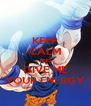 KEEP CALM AND GIVE ME YOUR ENERGY - Personalised Poster A4 size