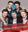 KEEP CALM AND go a  concert!!!! - Personalised Poster A4 size