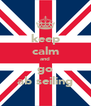 keep calm and go ab seiling - Personalised Poster A4 size
