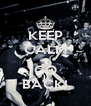 KEEP CALM and GO BACK! - Personalised Poster A4 size
