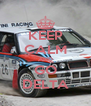 KEEP CALM AND GO DELTA - Personalised Poster A4 size