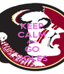 KEEP CALM AND GO NOLES - Personalised Poster A4 size