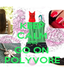 KEEP CALM AND GO ON POLYVORE - Personalised Poster A4 size