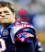KEEP CALM AND GO PATS - Personalised Poster A4 size