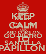 KEEP CALM AND GO PIETRO SANTELLA - Personalised Poster A4 size