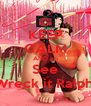 KEEP CALM AND go See Wreck it Ralph  - Personalised Poster A4 size