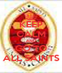 KEEP CALM AND GO TO ALL SAINTS - Personalised Poster A4 size