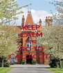 KEEP CALM AND GO TO CALDICOTT - Personalised Poster A4 size