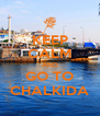 KEEP CALM AND GO TO CHALKIDA - Personalised Poster A4 size
