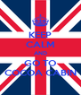 KEEP CALM AND GO TO COCOA CABIN - Personalised Poster A4 size