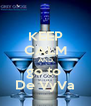 KEEP CALM AND go to  De VyVa - Personalised Poster A4 size