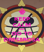 KEEP CALM AND GO TO DRESSROSA - Personalised Poster A4 size